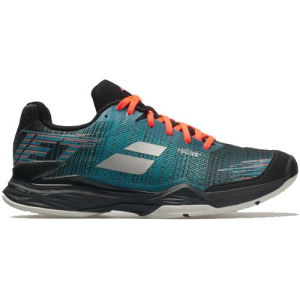 Babolat Men's Jet Mach II All Court Tennis Shoes (Dark Blue/Black)