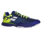Babolat Men's Jet Mach I Tennis Shoe (Blue/Fluo Aero) - Performance Tennis Shoes