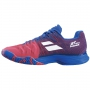 Babolat Men's Jet Mach II All Court Tennis Shoes (Poppy Red/Estate Blue)