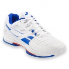 Babolat Men's SFX 2 All Court Tennis Shoes (White/Blue)  - Tennis Shoes
