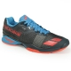 Babolat Men's Jet All Court Tennis Shoes (Grey/Red/Blue) - Lightweight Tennis Shoes