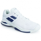Babolat Men's Propulse Blast All Court Tennis Shoes (White/Blue)  - Babolat Propulse Tennis Shoes