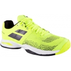 Babolat Men's Propulse Blast All Court Tennis Shoes (Fluo Yellow/Black) - Men's Tennis Shoes