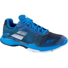 Babolat Men's Jet Mach II All Court Tennis Shoes (Diva Blue/Black) - Men's Tennis Shoes