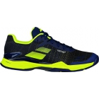 Babolat Men's Jet Mach II Clay Tennis Shoes (Blue/Yellow) - Clearance Sale! Discount Prices on Men's Tennis Shoes