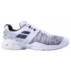 Babolat Men's Propulse Blast All Court Tennis Shoes (White/Black) - Babolat Propulse Tennis Shoes