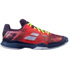 Babolat Men's Jet Mach II All Court Tennis Shoes (Dark Red/Black) - SALE: 20% Off Babolat Jet & Propulse Tennis Shoes
