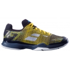 Babolat Men's Jet Mach II Clay Court Tennis Shoes (Dark Yellow/Black) -