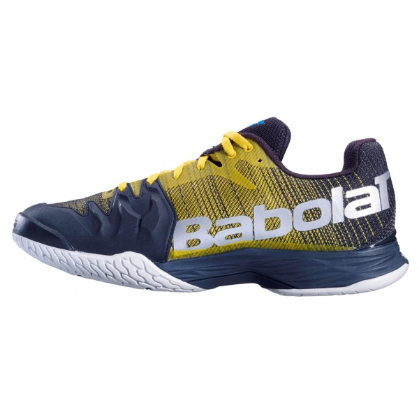 Babolat Men's Jet Mach II All Court Tennis Shoes (Dark Yellow/Black)