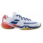 Babolat Men's Shadow Tour Tennis Shoes (White/Estate Blue) - Babolat Propulse Tennis Shoes