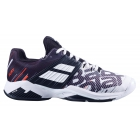 Babolat Men's Propulse Fury All Court Tennis Shoes (White/Black) - Babolat Propulse Tennis Shoes