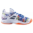 Babolat Men's Propulse Rage All Court Tennis Shoes (White/Rabbit) - Babolat Propulse Tennis Shoes