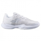 Babolat Women's Jet Mach 3 All Court Tennis Shoes (White/Silver) -