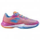 Babolat Women's Jet Mach 3 All Court Tennis Shoes (Hot Pink) -