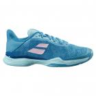 Babolat Women's Jet Tere Clay Court Tennis Shoes (Harbor Blue) -