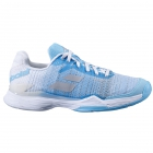 Babolat Women's Jet Mach II All Court Tennis Shoe (Capri/White) -