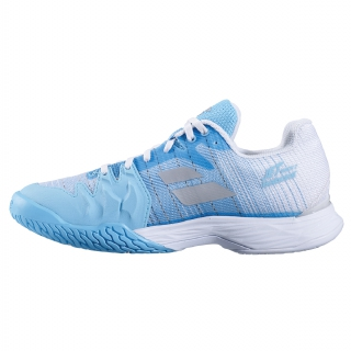 Babolat Women's Jet Mach II All Court Tennis Shoe (Capri/White)