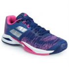 Babolat Women's Propulse Blast All Court Tennis Shoes (Blue/Pink) - New Tennis Shoes