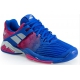 Babolat Women's Propulse Fury All Court Tennis Shoes (Blue/Pink)  - Babolat Tennis Shoes