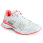 Babolat Women's Jet Mach II AC Tennis Shoe (White/Pink/Silver) - Clearance Sale: Discount Prices on Babolat Tennis Shoes