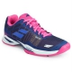 Babolat Women's Jet Mach I AC Tennis Shoe (Estate Blue/Fandango Pink)  - Babolat Tennis Shoes