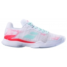 Babolat Women's Jet Mach II All Court Tennis Shoe (White/Pink) - SALE: 20% Off Babolat Jet & Propulse Tennis Shoes