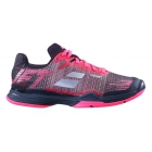 Babolat Women's Jet Mach II Clay Court Tennis Shoe (Pink/Black) -