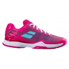 Babolat Women's Jet Mach I All Court Tennis Shoe (Purple/Blue Pastel) -