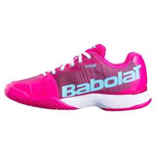 Babolat Women's Jet Mach I All Court Tennis Shoe (Purple/Blue Pastel)