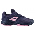 Babolat Women's Propulse Fury All Court Tennis Shoes (Black/Geranium Pink) -