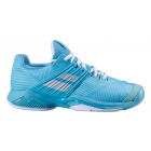 Babolat Women's Propulse Fury All Court Tennis Shoes (Porcelain Blue) - Babolat Propulse Tennis Shoes