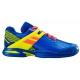 Babolat Propulse All Court Junior Tennis Shoes (Blue/Fluo Aero) - Clearance Sale! Discount Prices on Kids' Tennis Gear