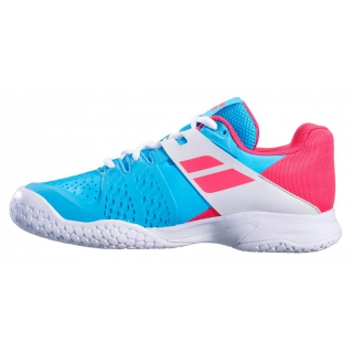 e305bd3c2c81 Babolat Propulse All Court Junior Tennis Shoes (Sky Blue Pink) - Do ...