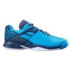 Babolat Propulse All Court Junior Tennis Shoes (Blue/Grey) - Babolat Junior Tennis