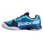 Babolat Junior Jet All Court Tennis Shoe (Dark Blue/Black)