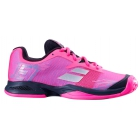 Babolat Junior Jet All Court Tennis Shoe (Pink/Black) - Tennis Shoes for Kids