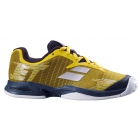 Babolat Junior Jet All Court Tennis Shoe (Dark Yellow/Black) -