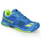 Babolat Junior Jet All Court Tennis Shoe (Blue/Yellow) - Babolat Tennis Shoes