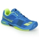 Babolat Junior Jet All Court Tennis Shoe (Blue/Yellow) - Lightweight Tennis Shoes