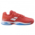 Babolat Juniors' Propulse All Court Tennis Shoes (Cherry Tomato/White) -