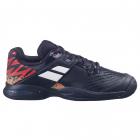 Babolat Junior Propulse All Court Tennis Shoe (Black/White) -