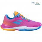 Babolat Junior Jet All Court Kids' Tennis Shoes (Hot Pink) -
