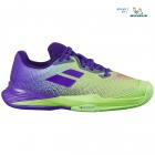 Babolat Junior Jet All Court Kids' Tennis Shoes (Jade Lime) -
