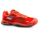 Babolat Junior Jet All Court Tennis Shoe (Orange) - New Tennis Shoes