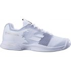 Babolat Junior Jet All Court Tennis Shoe (Wimbledon White) - Tennis Shoes for Kids