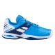 Babolat Junior Propulse All Court Tennis Shoes (White/Blue Aster) - Tennis Shoe Brands