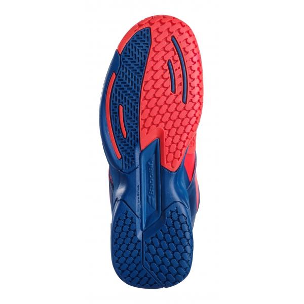 Babolat Junior Propulse All Court Tennis Shoes (Geraldine/Blue)