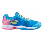 Babolat Junior Jet All Court Kids' Tennis Shoes (Capri Breeze/Pink) -