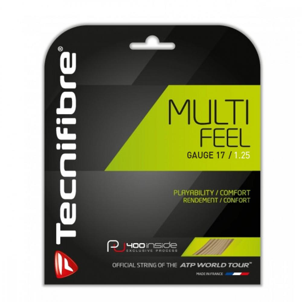 Tecnifibre Multi Feel 17g Tennis String (Set)