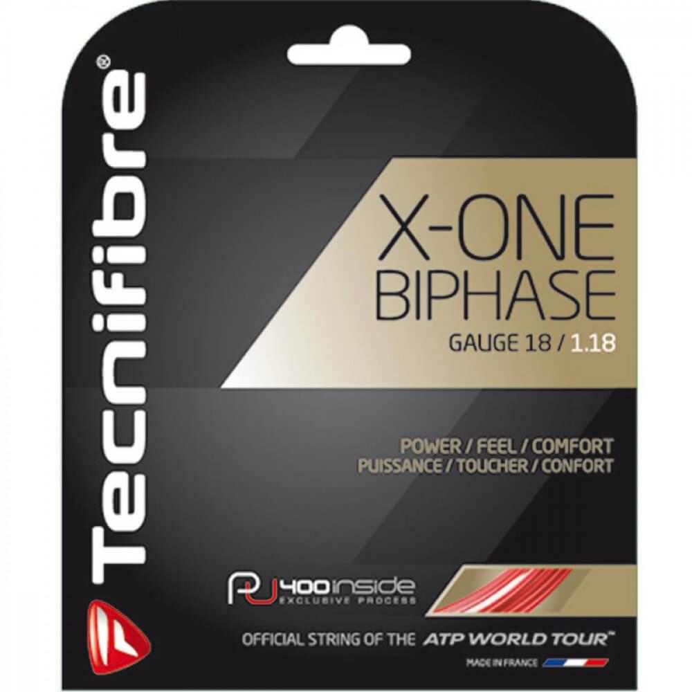 Tecnifibre X-One Biphase Tennis String 18g (Set)
